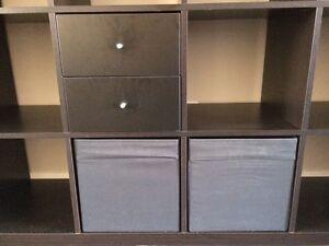 IKEA Expedit shelving with 3 inserts Edmonton Edmonton Area image 3