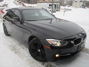 """Mags noirs BMW 17"""", pneus et tapis d'hiver"""
