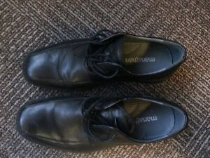Manathan black leather dress shoes Gatineau Ottawa / Gatineau Area image 2