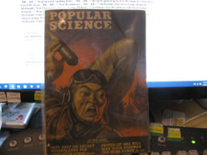** Popular Science Magazine WWII January 1945 Japanese Soldier..
