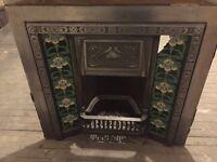 Art Nouveau Ltd Cast Iron Fireplace