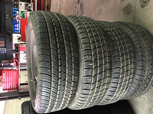 2056515 tires come with 4 GM steel rims