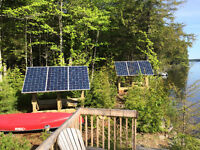 Solar (PV) and micro wind turbine installer – off grid systems