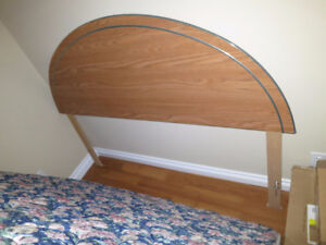 Queen size headboard and bed frame - No Delivery