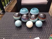Decorative balls/candle holder ornaments