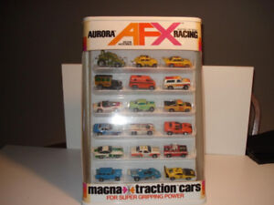 Willing to buy your old Aurora Afx Tomy slot cars sets tracks