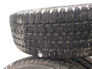 "M+S TIRES 20"" 10 ply E rated - only 12,000K on them (4)"