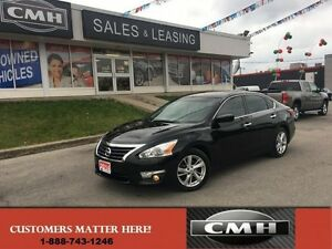 2014 Nissan Altima 2.5 SV   NAV CAM LEATHER WRAP WHEEL *CERTIFIE