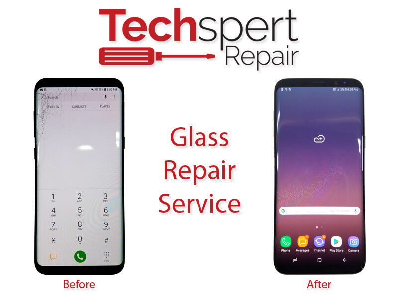 Samsung Galaxy S6 Cracked Screen Glass Repair Replacement Mail In Service