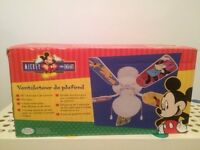 Ventilateur Mickey Mouse pour plafond,  Mickey Mouse ceiling fan