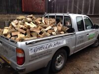 Top quality logs 2years drying over 2 tonnes delivered