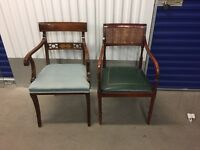 2 x Desk chairs