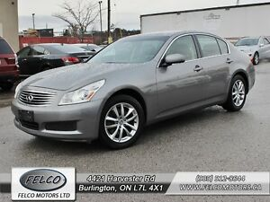 2007 Infiniti G35X | ACCIDENT FREE | ALL WHEEL DRIVE | CERTIFIED