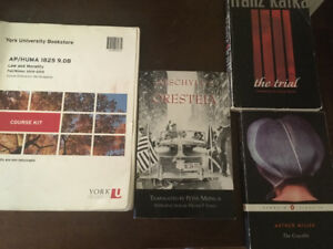 Law and morality HUMA1825 course kit and books