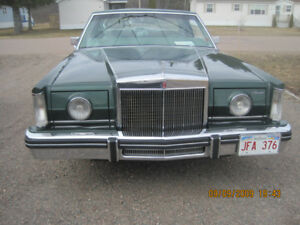 1981 lincoln mark6 2 door