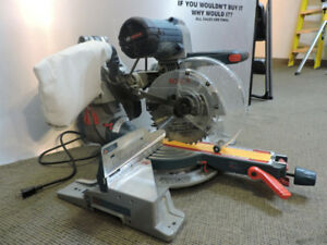 bosch miter saw Bosch 10-in 15 Amp Dual-Bevel Glide Mitre Saw
