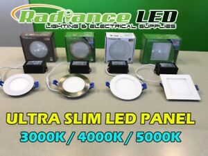 LED SLIM PANELS / POT LIGHTS / ELECTRICAL SUPPLIES SPRING SALE !