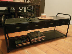 Industrial Coffee Table / Bench