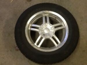 4 205/65/15 tires and rims
