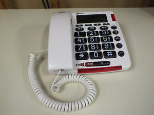 SPECIAL NEEDS - GEEMARC AMPLIVOICE50 TALKING CALLER ID TELEPHONE