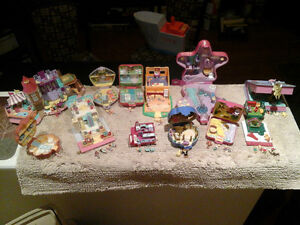 Vintage polly pocket compacts lot (12)
