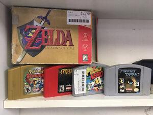 Plusieurs jeux classiques a vendre!!