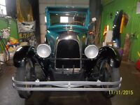 1928 WHIPPET COACH MODEL 96   DRIVES GREAT