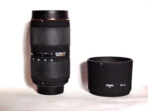 SIGMA 50-150 F2.8  APO EX DC Lens for Nikon Mount