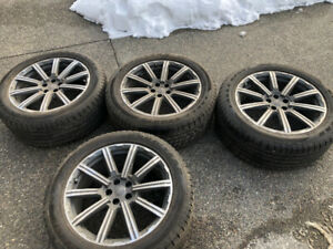 Original Audi Q7 Rims and Tires
