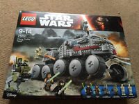 **BRAND NEW SEALED**LEGO STAR WARS CLONE TURBO TANK**MODEL NUMBER -75151** RRP £99.00