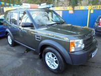 2005 05 LAND ROVER DISCOVERY 3 2.7 TDV6 IN GREEN # ONE OWNER 38000 MLS FSH #
