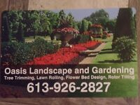 Oasis Landscaping and Gardening - Fall clean up
