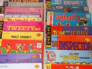 Assorted Old Comic Books