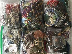 Bags of jewelry