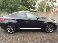 2012 62 BMW X6 M50D 4X4 AUTO BLACK DIESEL **OVER £7,000 OPTIONAL EXTRAS**