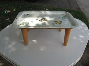 Modified TV Table works as bed table, etc Belleville Belleville Area image 2