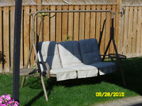 Outdoor Patio Cushion Swing