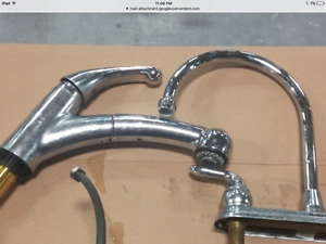 Misc faucets and parts