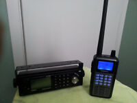 Uniden Police Scanner and Remote Head