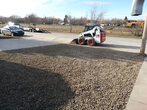 CRUSHED ROCK AND BASE GRAVEL -  Cheapest delivery in Saskatoon!