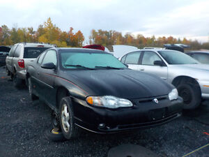 2001 Chevrolet Monte Carlo Now Available At Kenny U-Pull Cornwal Cornwall Ontario image 1