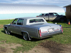 1988 Cadillac D'Elegance stolen from Claresholm Dec. 20