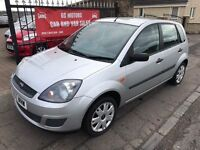 2007 (57) FORD FIESTA STYLE 1.2, 1 YEAR MOT, WARRANTY, NOT CORSA CLIO POLO PUNTO MICRA YARIS