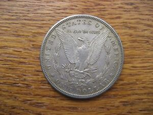 1885 Morgan USA Silver Dollar