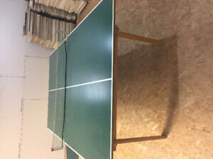 Ping pong table + paddles for sale!