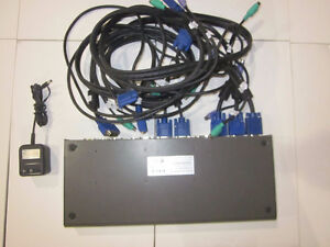 D-Link - DKVM-8E - 8-Port KVM Rackmount Switch