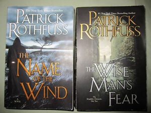 #1 NYT Best Seller The Wise Man's Fear & The Name of the Wind