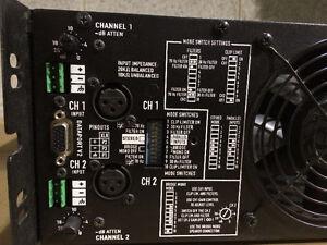 Amplificateur QSC model ISA280 Professional Amplifier West Island Greater Montréal image 4