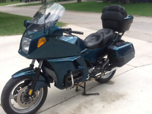 1992 BMW K1100LT ABS  luxury touring motorcycle
