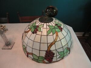 Stained Glass Tiffany Styled Ceiling Light  Lamp